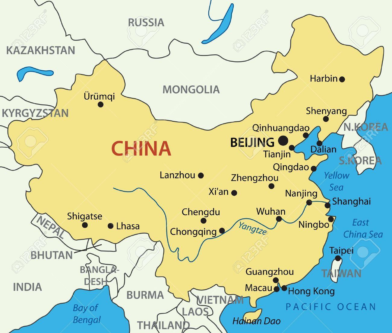 Mapa de china en el mar amarillo amarillo mar del mapa de china mar amarillo del mapa de china gumiabroncs Choice Image